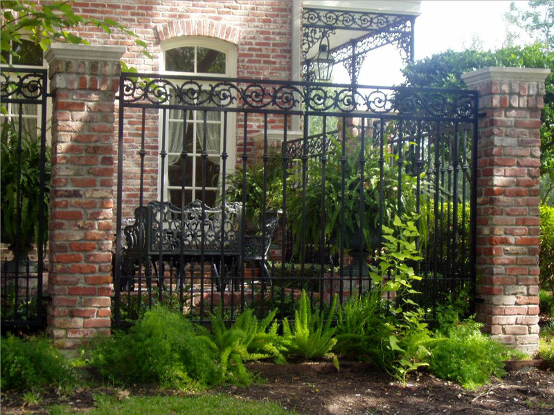 Custom Wrought Iron Fences From Carollo Fence Company