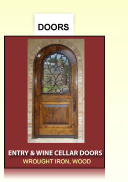 ... Handrails And Stairs · Entry And Wine Cellar Doors